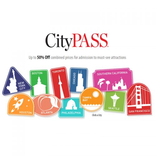 CityPass : Up to 50% off Admission Tickets