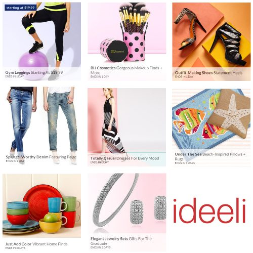 $100 to Spend at ideeli : Only $50