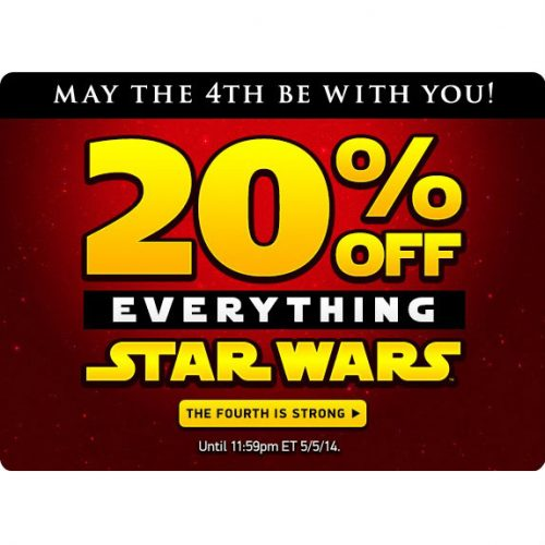 ThinkGeek : 20% off Star Wars items