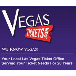 Vegas Tickets : $25 off any order