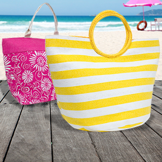 Straw Beach Totes : $11.99 + Free S/H
