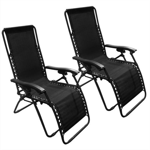 Set of 2 Zero Gravity Chairs : $64.99 + Free S/H