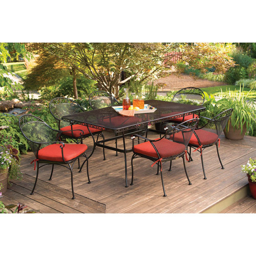 7PC Outdoor Dining Set : $349