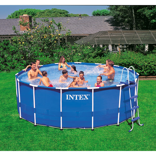 Metal Frame Pool : $179