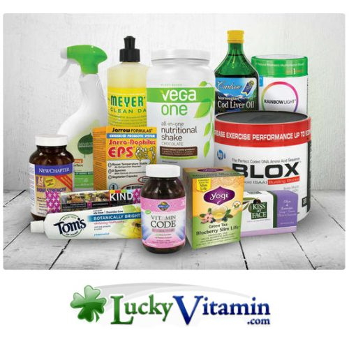 $24 to spend at Lucky Vitamin : Only $12