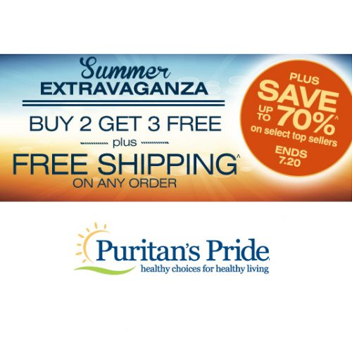 Vitamins : Up to 70% off + Buy 2, Get 3 Free + Free S/H