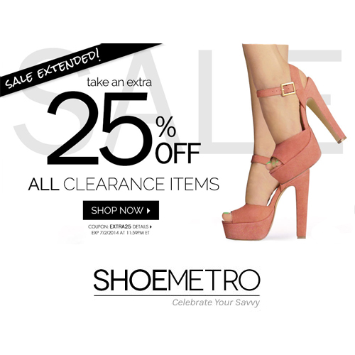 ShoeMetro is an online retailer that specializes in footwear from many brand names. They sells boots, shoes and many styles at discounted prices. Check out the latest ShoeMetro coupon to save 10% OFF & FREE shipping promo code.