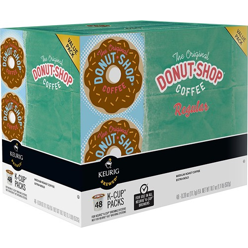48Pk of Keurig Donut Shop Coffee : $19.99