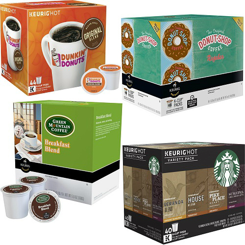 Up to 43% off 40-48CT Boxes of K-Cups : $19.99