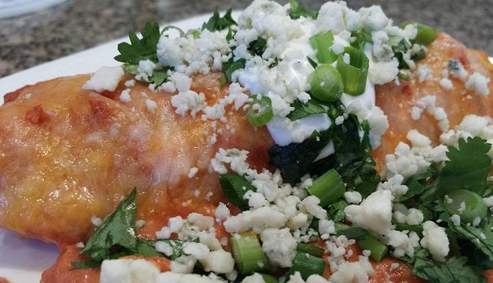 Buffalo Chicken Enchilada Recipe
