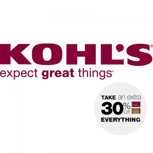 Kohl's : Extra 30% off + Free S/H