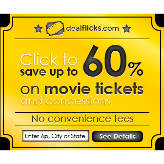 Dealflicks : Up to 60% off Movies and Concessions