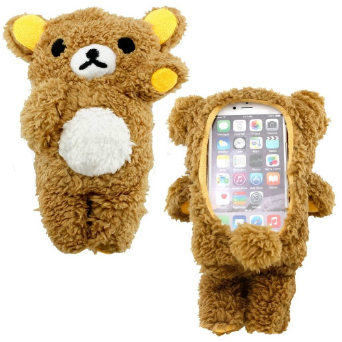67% off Plush Teddy Bear Cell Phone Cases : $9.94 + Free S/H