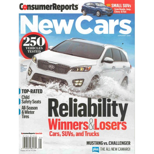 Consumer Reports Subscription : Only $16.96