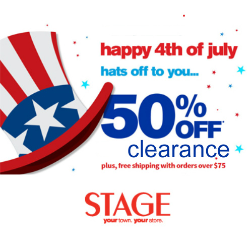 Stage Store : Extra 50% off Clearance