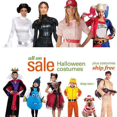 Halloween Costumes : Up to 60% off + Free S/H