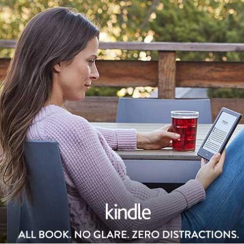 37% off Kindle E-Reader : $49.99 + Free S/H