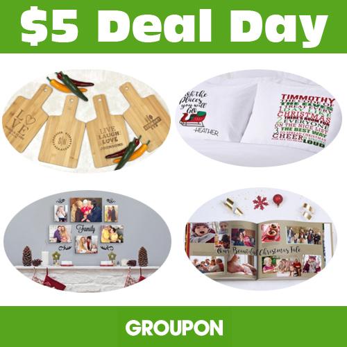 Groupon : $5 Deals
