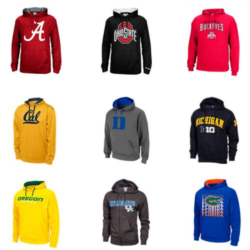 62% off Women's NCAA Pullover Hoodies : $14.99 + Free S/H