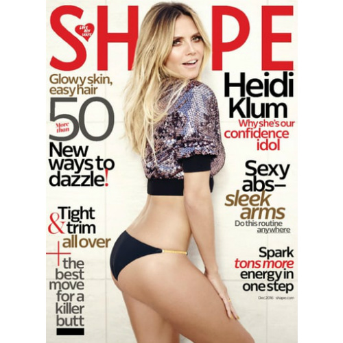 4-YR Shape Magazine Subscription : $17