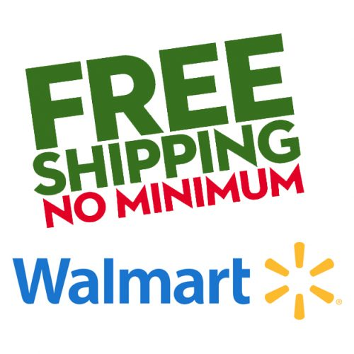 Walmart : Free S/H on any order