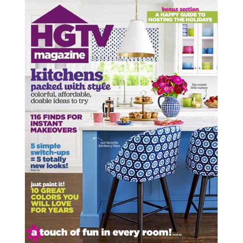 80% off HGTV Magazine Subscription : Only $5