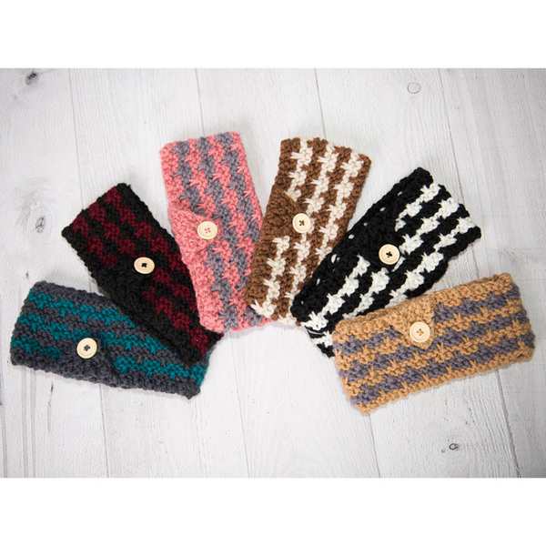 Cable Knitting Patterns For Scarves : Knit Head Wrap : USD5.97 + Free S/H MyBargainBuddy.com