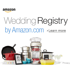 Amazon Wedding Registry : 10% off Coupon Offer