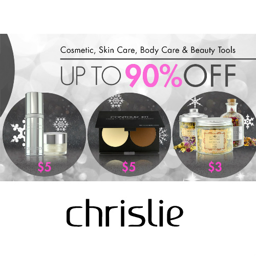 Chrislie : Up to 90% off + Free S/H on $25