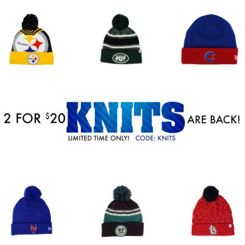 Knit Hats : 2 for $20