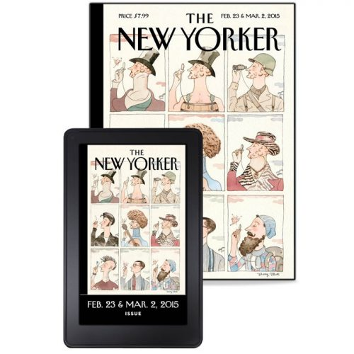 New Yorker Print + Digital Subscription : Only $5