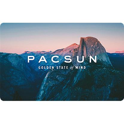 PacSun Gift Cards : 33.5% off Face Value | MyBargainBuddy.com