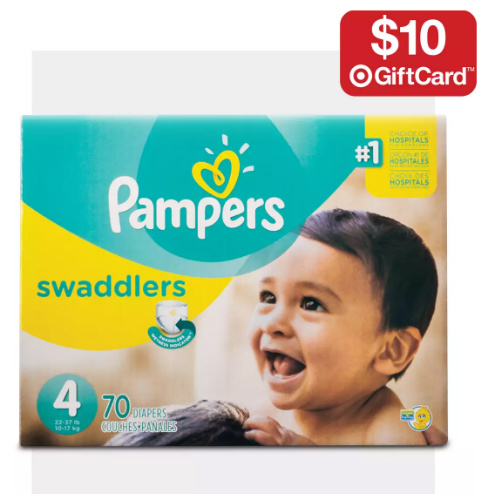 Target : Free $10 Gift Card with Diaper Purchase