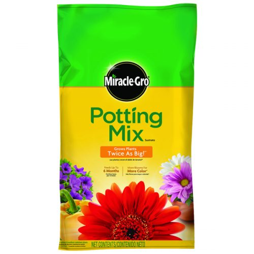 33% off Miracle-Gro 25-Quart Potting Soil : Only $6