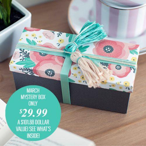 Cricut Supplies Mystery Box : $29.99 + Free S/H