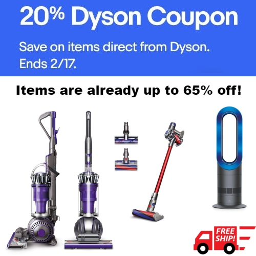 Dyson UK Coupons, Promo Codes May 2019
