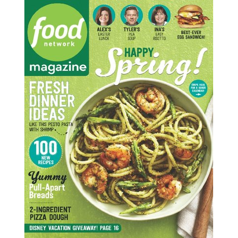 67% off Food Network Magazine Subscription : Only $5