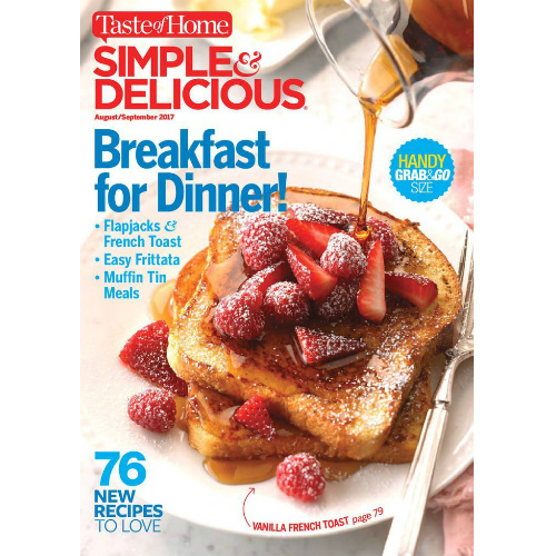 82% off Simple & Delicious Subscription : Only $5