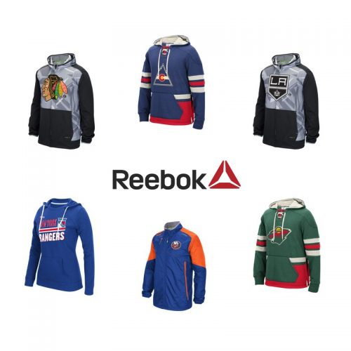 Reebok : 50% off Hoodies