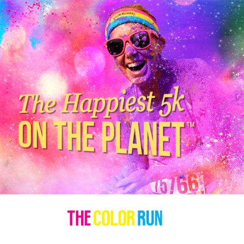 The Color Run : $5 off Registration