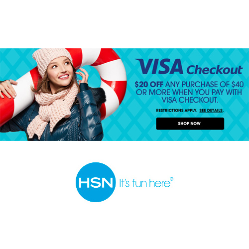 HSN : $20 off $40 or more