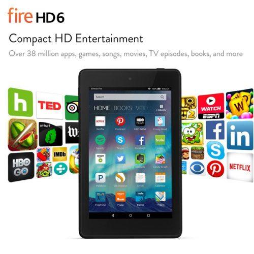 Kindle Fire HD 6 : $69.99 + Free S/H