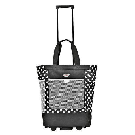 Rolling Shopping Tote : $19.99 + Free S/H