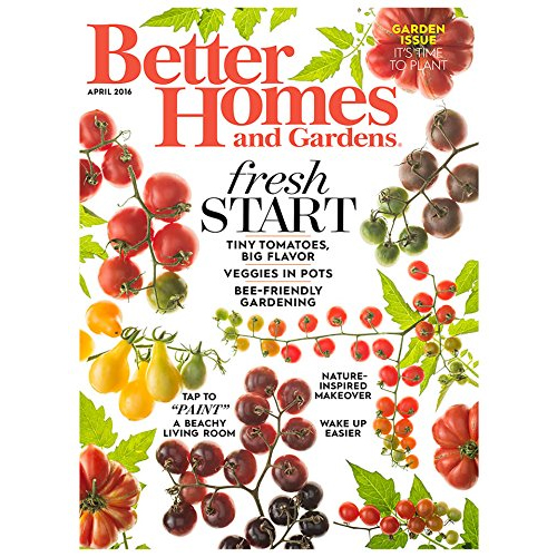 Better Homes Gardens Subscription Only 5