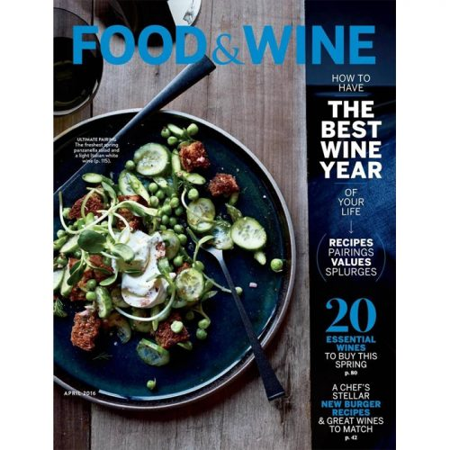 Food & Wine Magazine Subscription : Only $5