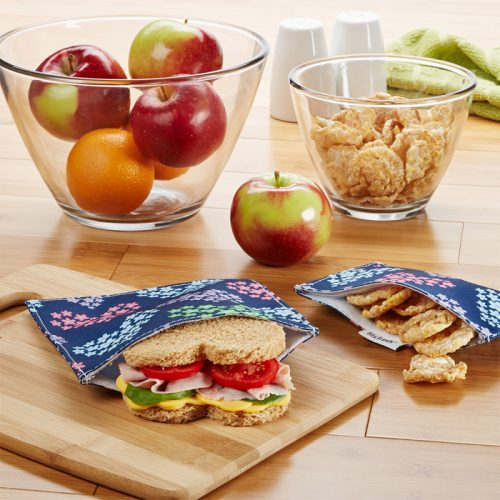 Reusable Sandwich & Snack Bags : $5 + Free S/H