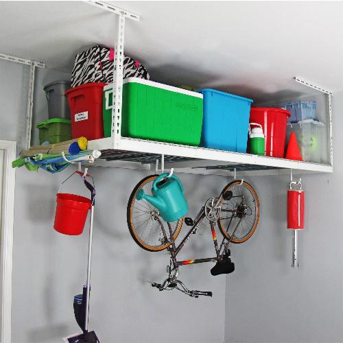 Overhead Garage Storage Rack : $135.99