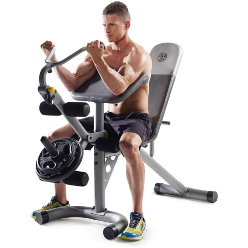 Gold's Gym Workout Bench : $97 + Free S/H