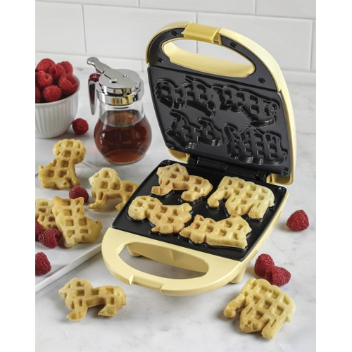 Circus Animal Waffle Maker : Only $9.99