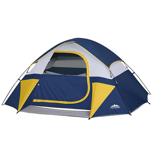60% off 3-Person Dome Tent : $19.99
